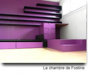 La chambre de Fostine